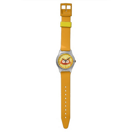 Sunflower Cat Wristwatches