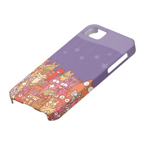 Lot Cats iPhone5 Cover