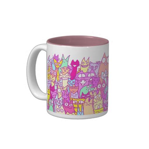 Lot Cats Mug